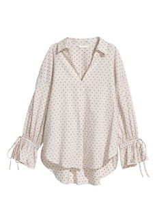H&M H & M - Wide-cut Shirt - White