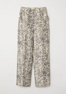 H&M H & M - Wide-leg Pants - Beige