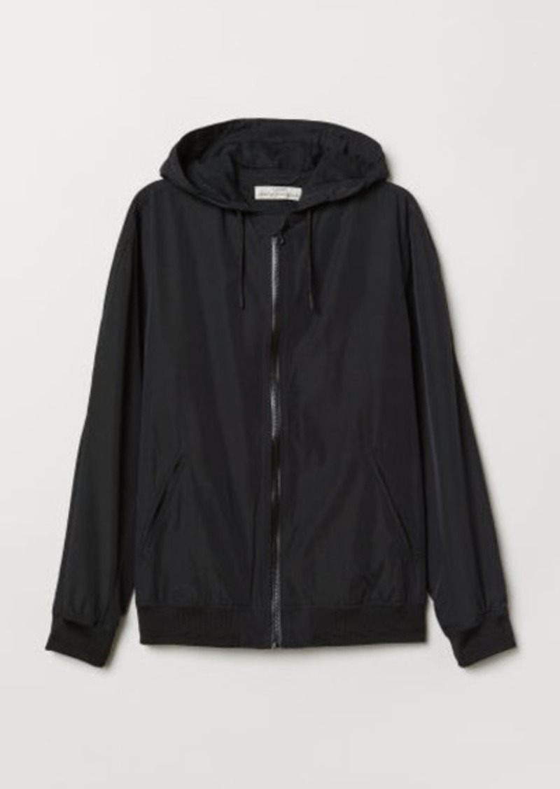 H&M H & M - Windbreaker - Black