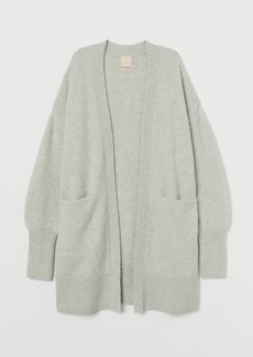 H&M H & M - Wool-blend Cardigan - Green