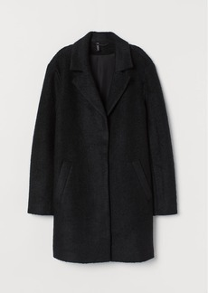 H&M H & M - Wool-blend Coat - Black