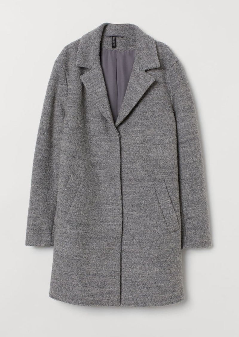 H&M H & M - Wool-blend Coat - Gray