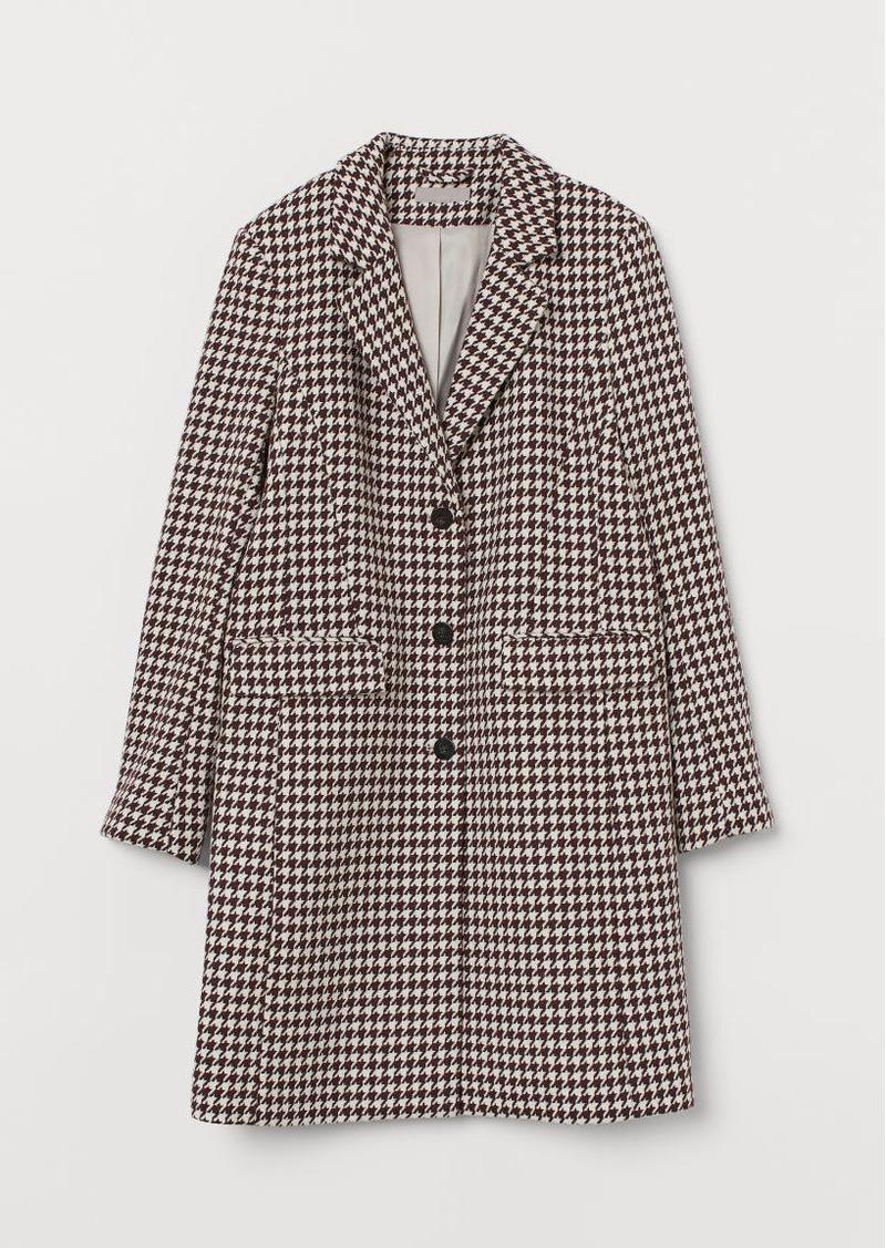 H&M H & M - Wool-blend Coat - Pink