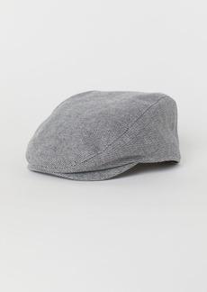 H&M H & M - Wool-blend Flat Cap - Gray