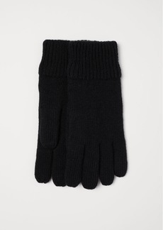 H&M H & M - Wool-blend Gloves - Black