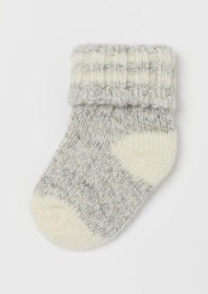 H&M H & M - Wool-blend Socks - Gray