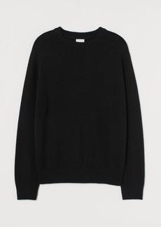 H&M H & M - Wool-blend Sweater - Black