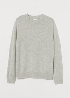 H&M H & M - Wool-blend Sweater - Gray