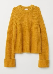 H&M H & M - Wool-blend Sweater - Yellow