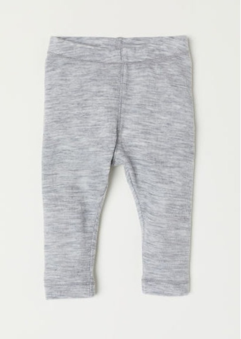 H&M H & M - Wool Leggings - Gray