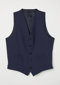 H&M H & M - Wool Suit Vest - Blue