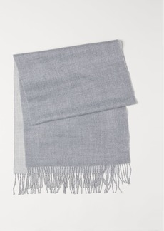 H&M H & M - Woven Scarf - Gray