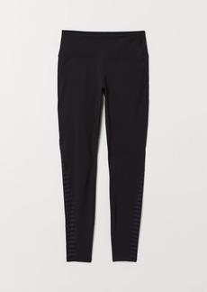 H&M H & M - Yoga Tights Shaping waist - Black
