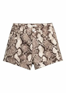 H&M High-waisted Twill Shorts