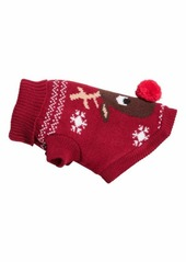 On Sale today! H M H   M - Jacquard-knit Dog Sweater - Red reindeer ... 40fc11ed0
