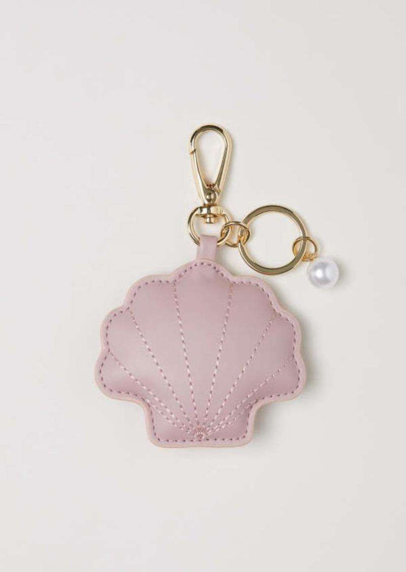 H&M H & M - Key Ring - Powder pink/shell - Women