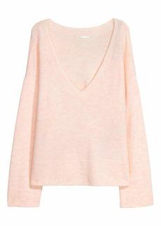 H&M H & M - Knit Sweater - Light powder pink - Women