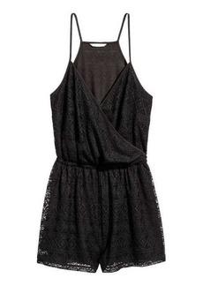 H&M Lace Jumpsuit