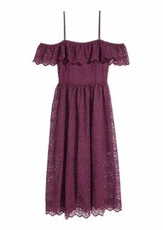 H&M Lace Off-the-shoulder Dress
