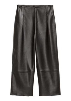 H&M Leather Culottes