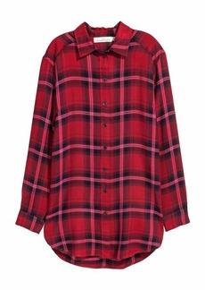 H&M Long Flannel Shirt