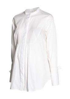 H&M H & M - MAMA Cotton Blouse - White - Women