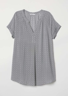H&M H & M - MAMA Patterned Blouse - White/patterned - Women
