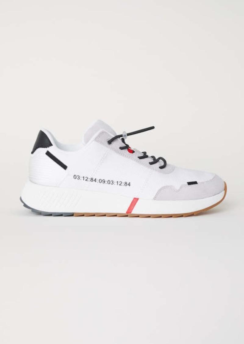 H\u0026M H \u0026 M - Mesh Sneakers - White - Men