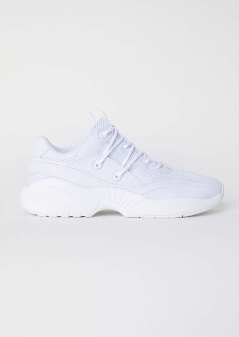 H \u0026 M - Mesh Sneakers - White - Men