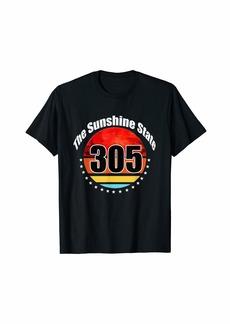 H&M Miami Retro 305 Sunshine T-Shirt