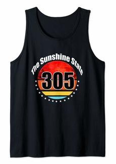 H&M Miami Retro 305 Sunshine Tank Top