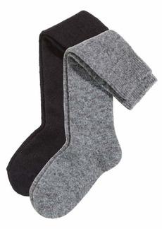H&M Mohair-blend Knee Socks