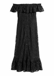H&M Off-the-shoulder Lace Dress