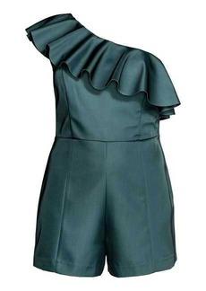 H&M One-shoulder Jumpsuit