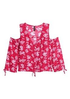 H&M Open-shoulder Blouse