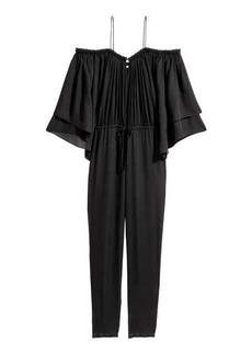 H&M Open-shoulder Jumpsuit