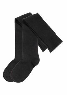 H&M H & M - 2-pack Over-knee Socks - Black - Women