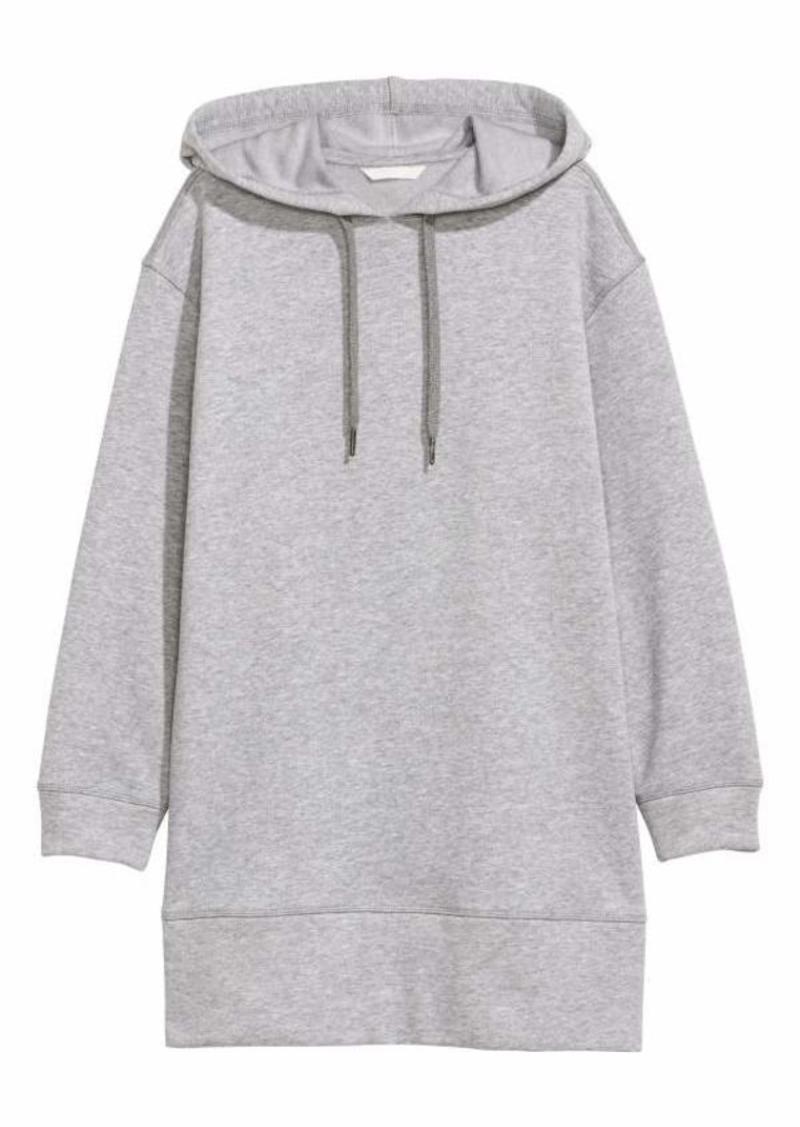 b477bccfaa3 H M H   M - Oversized Hooded Sweatshirt - Light gray melange - Women