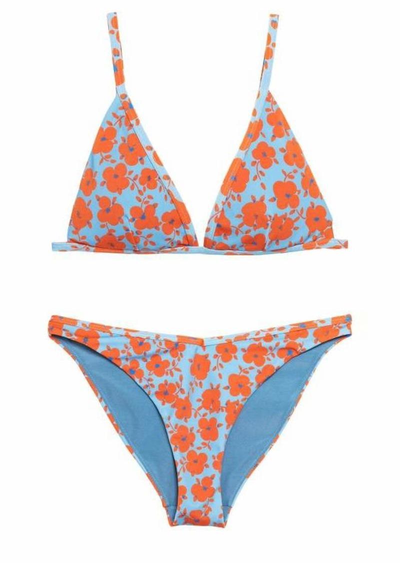 867e69eaeb91 H M H   M - Patterned Bikini - Light blue floral - Women
