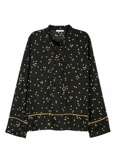 H&M H & M - Patterned Blouse - Black/patterned - Women