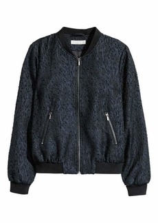 H&M Patterned Bomber Jacket