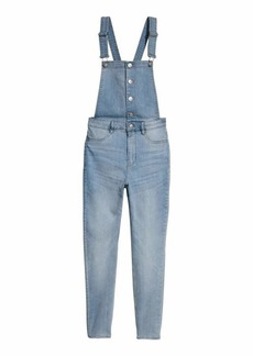 H&M H & M - Petite fit Bib Overalls - Light denim blue - Women