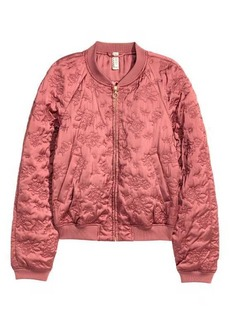 H&M Quilted Bomber Jacket