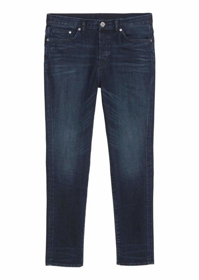 01db67d9b8e H&M H & M - Relaxed Skinny Jeans - Dark blue - Men | Jeans