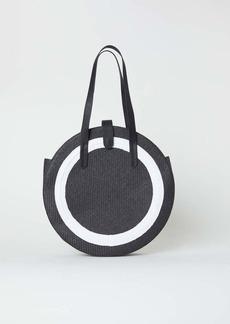 H&M H & M - Round Straw Bag - Black - Women