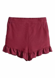 H&M Ruffle-trimmed Shorts