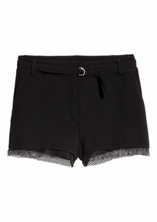 H&M Shorts with Mesh Trim