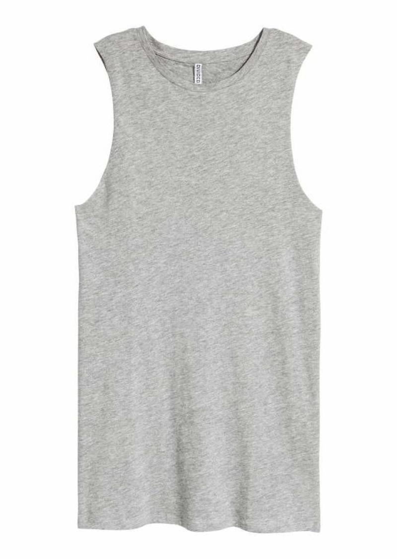 37ea658e3b505 On Sale today! H M H   M - Sleeveless Jersey Dress - Gray melange ...