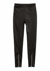 H&M H & M - Slim-fit Pants - Black/glitter - Women