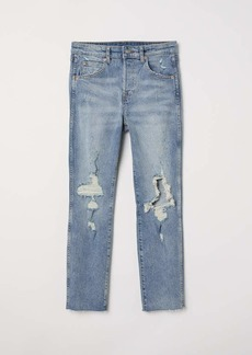 H&M Slim High Cropped Jeans